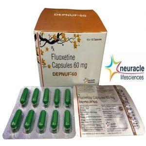 Fluoxetine 60 mg