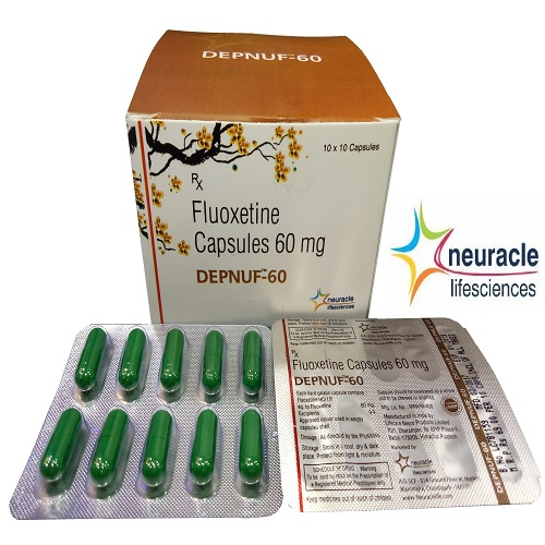 Fluoxetine 60 mg