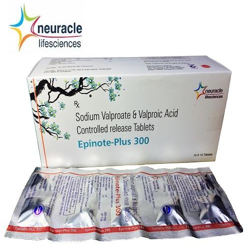 Sodium Valproate 200 mg + Valporic acid 87 mg tab