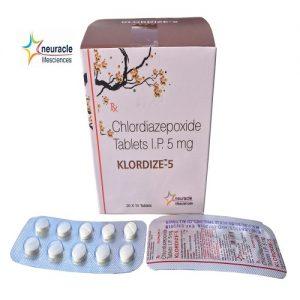 Chlordiazepoxide 5 mg tab