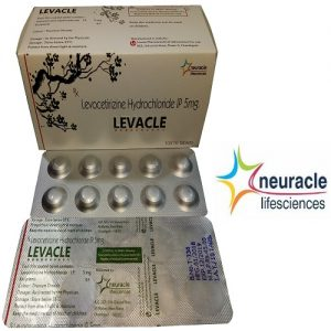 Levocetirizine Hydrochloride 5 mg Tablet tab