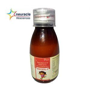 Mefenamic + Paracetamol Syrup