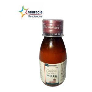 Aceclofenac + Paracetamol Syrup