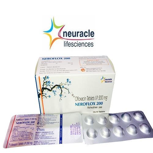 Ofloxacin 200 mg tab