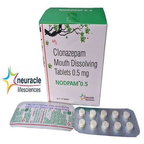 Clonazepam 0.5 mg (Mouth Disolving) tab