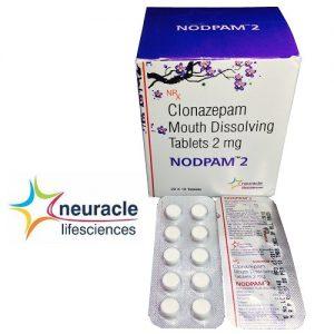 Clonazepam 2 mg (Mouth Disolving) tab