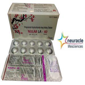 Propranolol 40 mg Long Acting tab