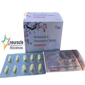Nimesulide 100 mg + Paracetamol325 mg tab