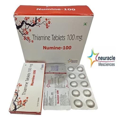 Thiamine 100 mg tab