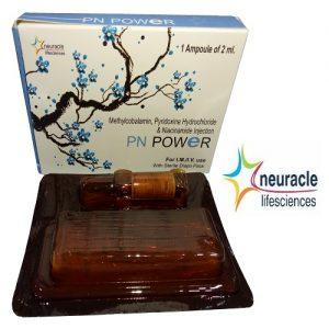 Methylcobalamin 1500 mcg + Pyridoxine hydrochloride 100 mg + Niacinamide 100 mg Injection