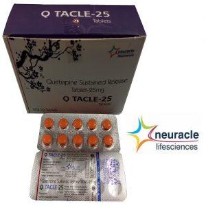 Quetiapine 25 mg SR tab