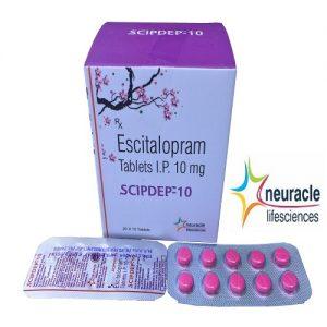 Escitalopram 10 mg tab