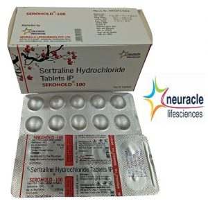 Sertraline 100 mg tab