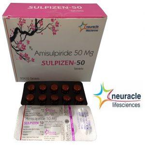 Amisulpiride 50 mg tab
