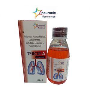 Ambroxol + Terbutaline + Menthol + Guaiphenesin Syrup