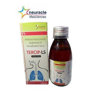Ambroxol + Guaiphenesin + Levosalbutamol Syrup