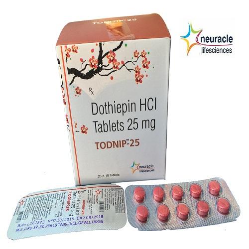 Dothiepin 25 mg tab
