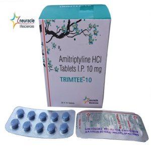 Amitriptyline 10 mg tab