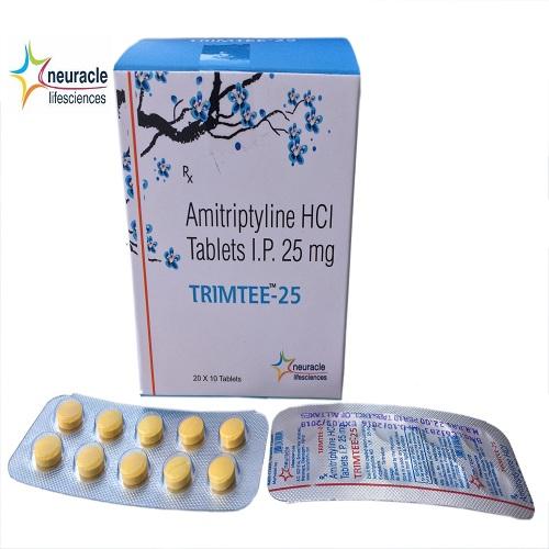Amitriptyline 25 mg tab