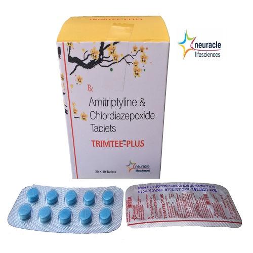 Amitriptyline 12.5 mg + Chlordiazepoxide 5 mg tab