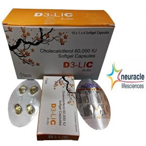 Cholecalciferol 60,000IU/5ml Vitamin D3 Drops