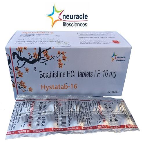 Betahistine 16 mg tab