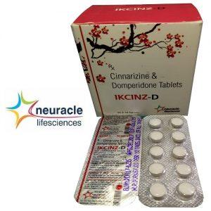 Cinnarizine 20 mg + Domperidone 15 mg tab