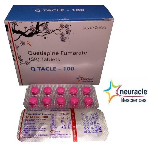 Quetiapine 100 mg SR tab
